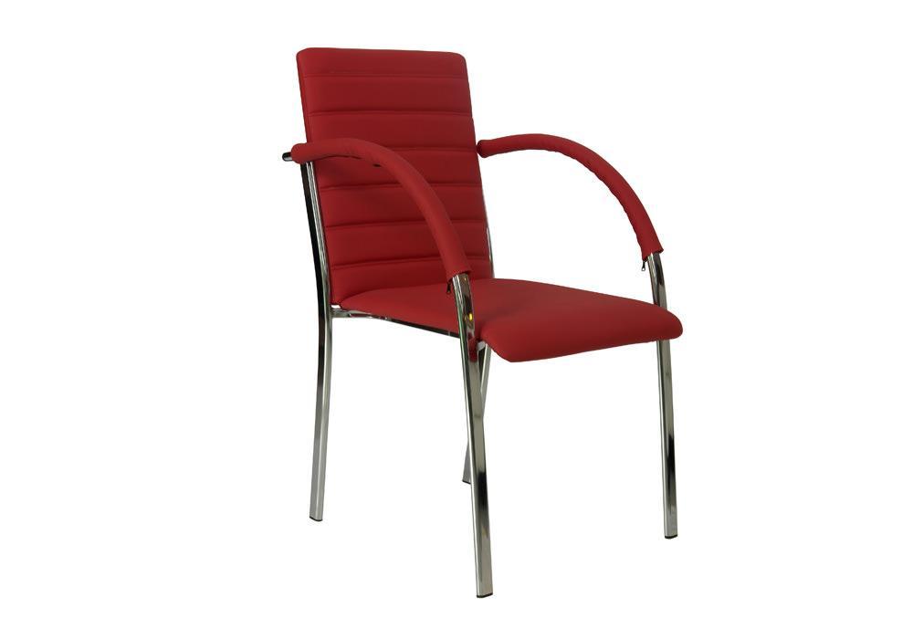 Krzesło B-01 czerwone 1