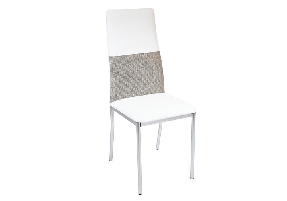 Krzesło DC2-004 biały+materiał 1