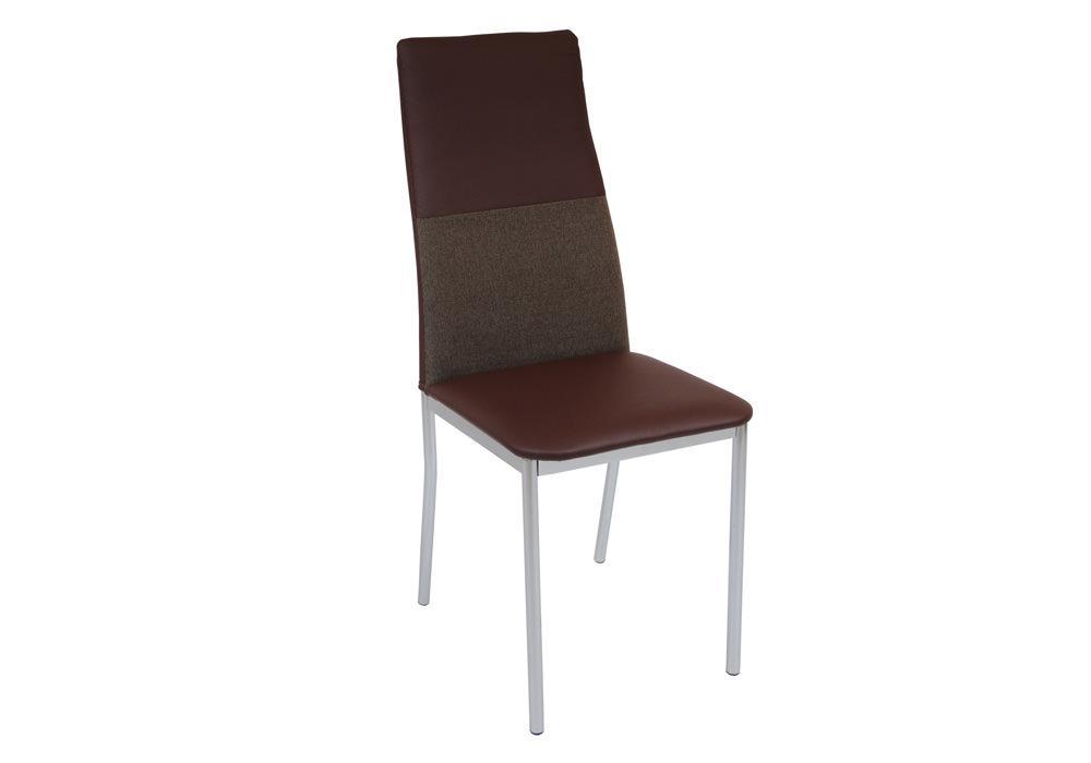 Krzesło DC2-004 brąz+materiał 1
