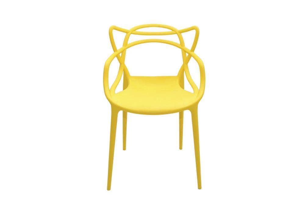 Krzesło DC2-1007 żółty 1