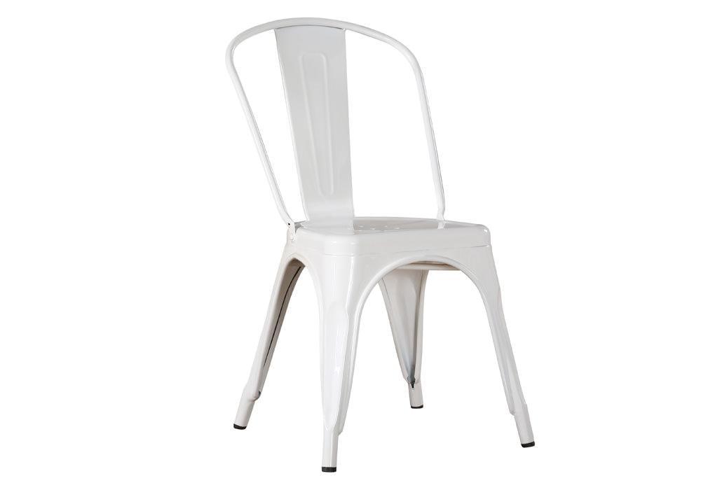 Krzesło LOFT BIAŁY 1