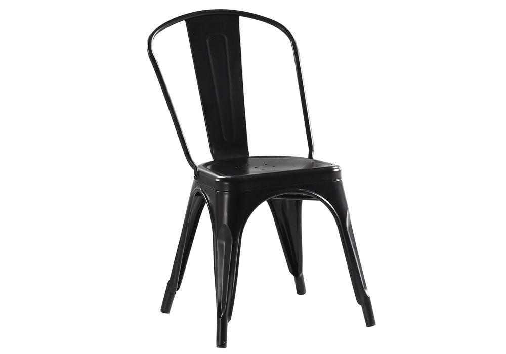 Krzesło LOFT CZARNY 1