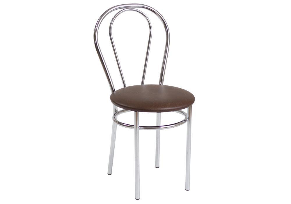 Krzesło Tulipan ciemny brąz 1