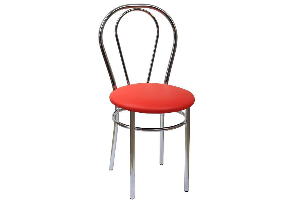 Krzesło Tulipan eco czerwony 1