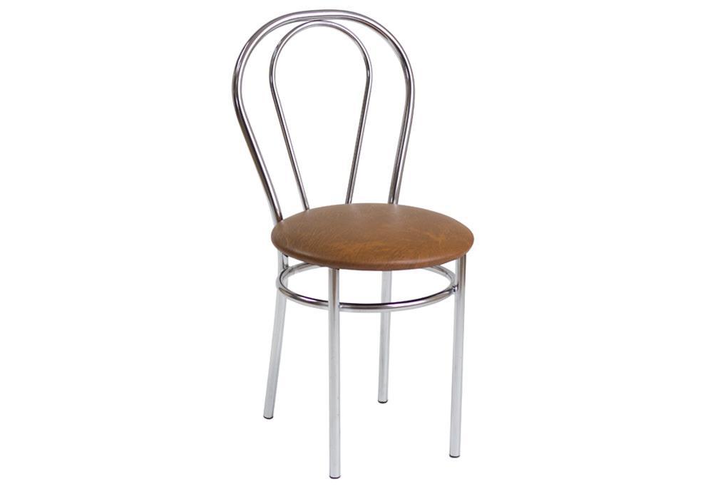 Krzesło Tulipan jasny brąz 1