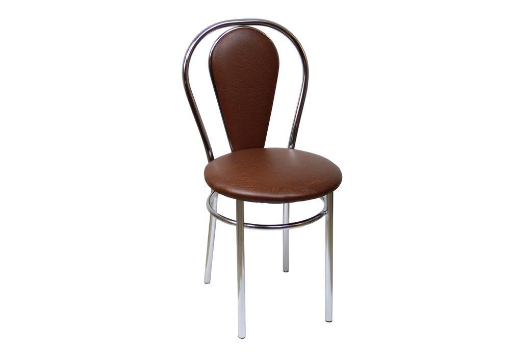 Krzesło Tulipan Plus c.brąz 1