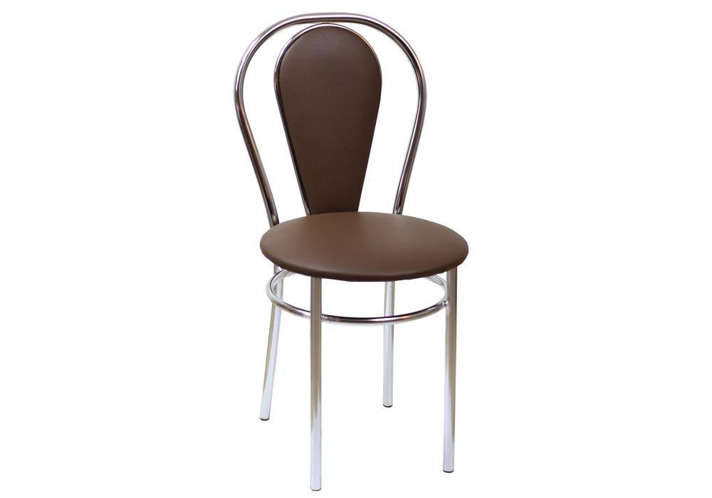 Krzesło Tulipan Plus eco brąz 1