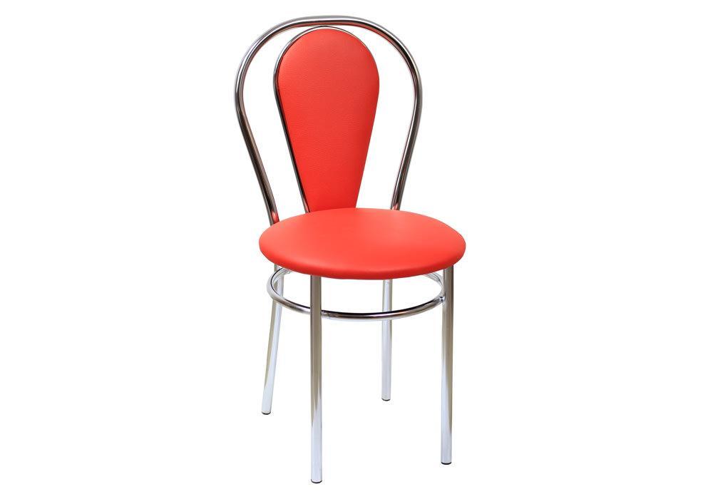 Krzesło Tulipan Plus eco czerwony 1