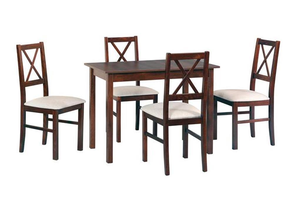 Zestaw stołowy Stół MAX I, krzesła NILO X 1