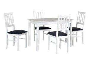 Zestaw stołowy Stół MAX II, krzesła BOSS IV