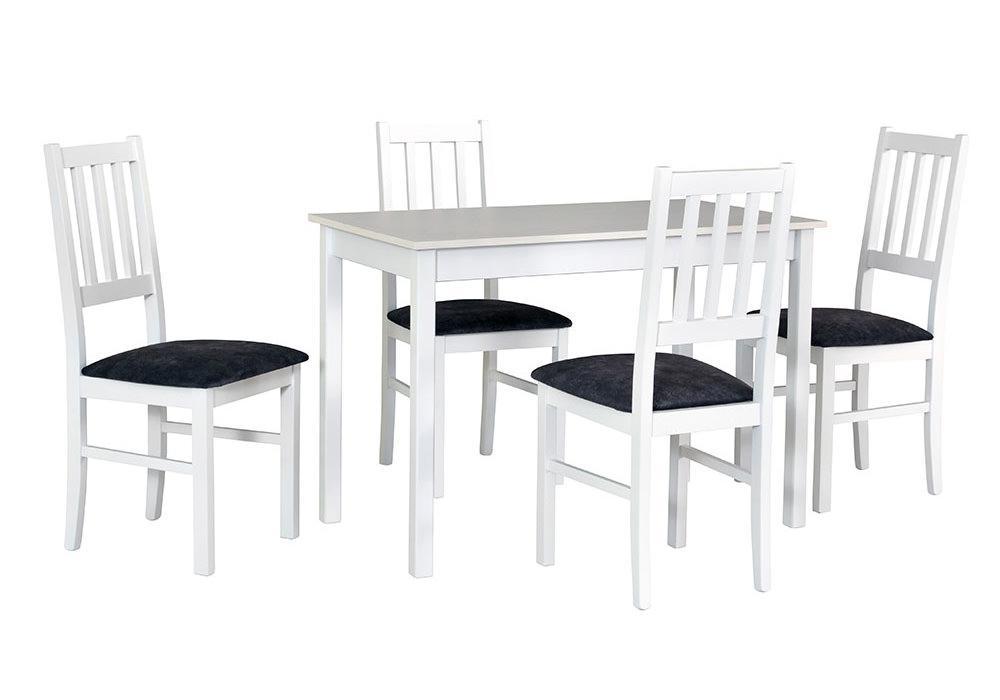 Zestaw stołowy Stół MAX II, krzesła BOSS IV 1