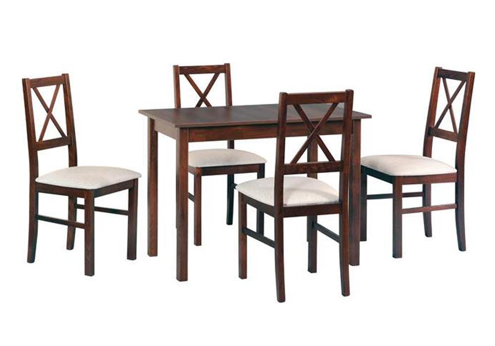 Zestaw stołowy Stół MAX II, krzesła NILO X 1