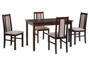 Zestaw stołowy Stół MAX III, krzesła BOSS XIV
