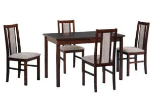 Zestaw stołowy Stół MAX III, krzesła BOSS X