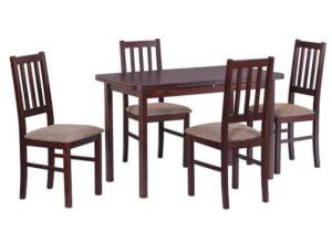 Zestaw stołowy Stół MAX IV, krzesła BOSS IV