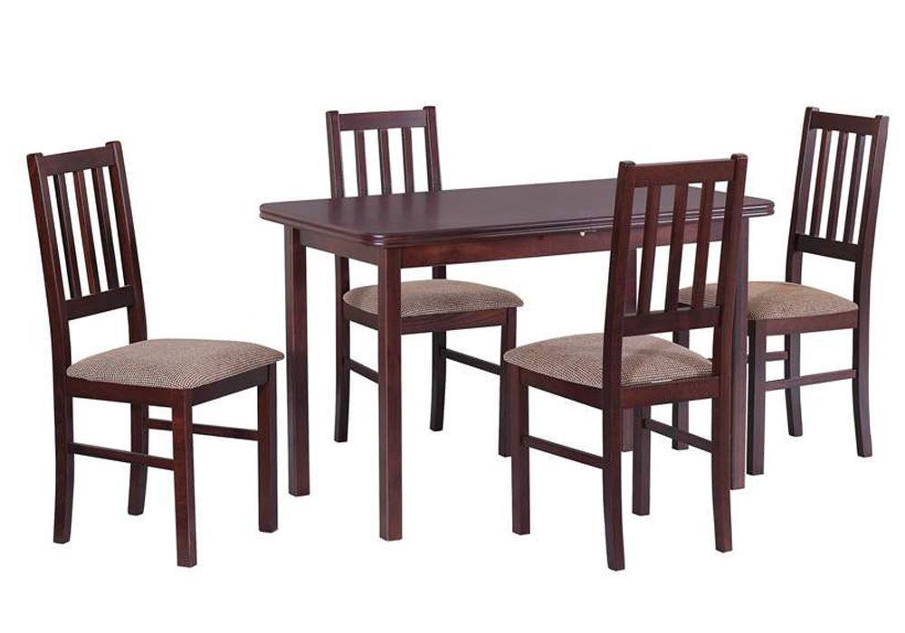 Zestaw stołowy Stół MAX IV, krzesła BOSS IV 1