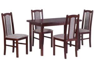 Zestaw stołowy Stół MAX IV, krzesła BOSS VII