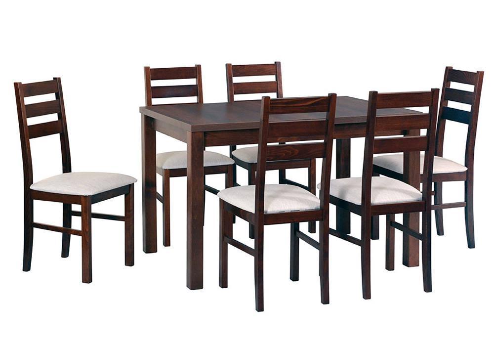 Zestaw stołowy Stół MAX V, krzesła NILO VII 1