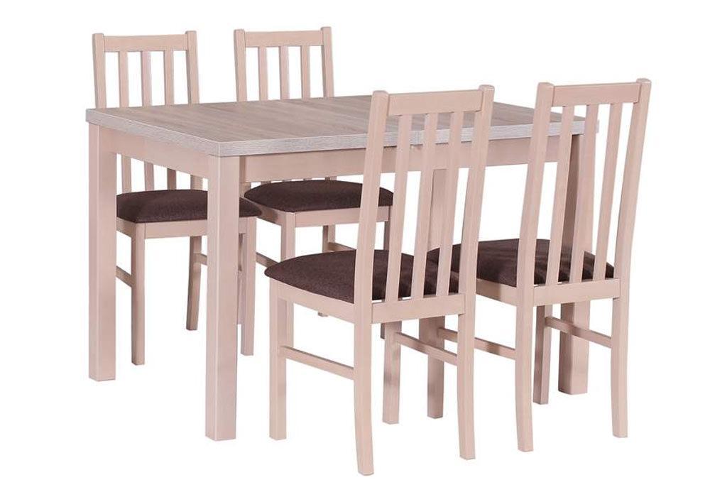 Zestaw stołowy Stół MAX V, krzesła BOSS X 1