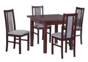 Zestaw stołowy Stół MAX VII, krzesła BOSS XIV