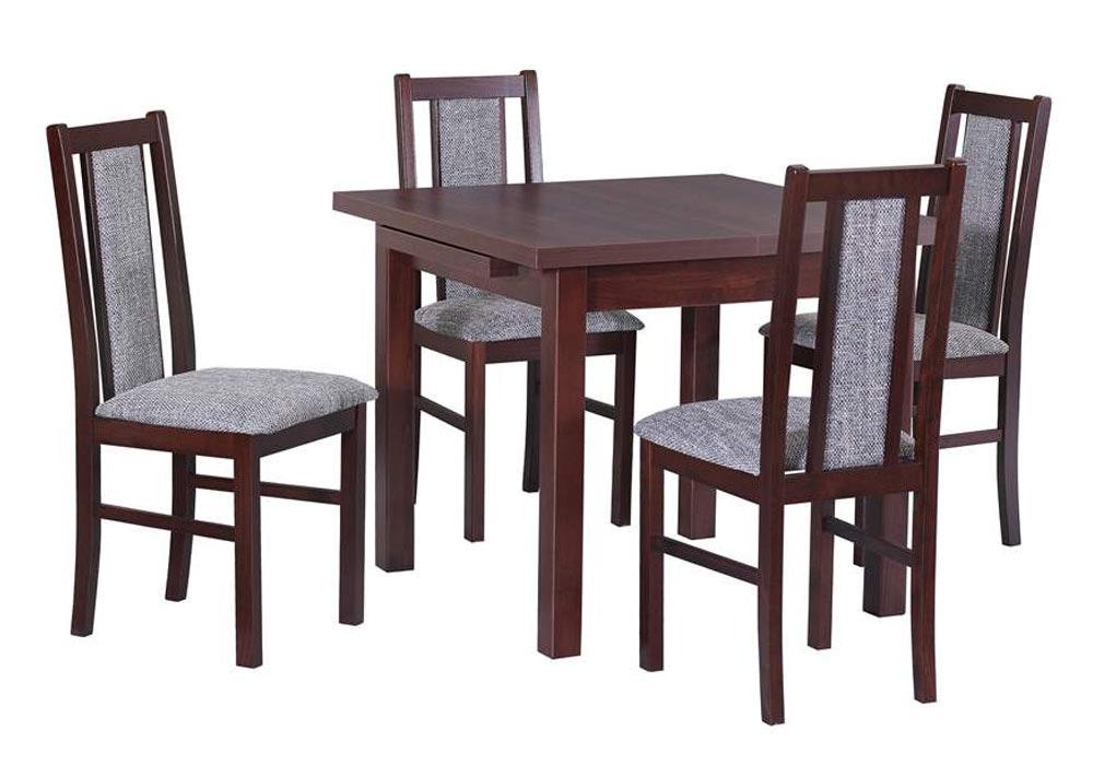 Zestaw stołowy Stół MAX VII, krzesła BOSS XIV 1