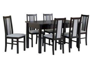 Zestaw stołowy Stół MODENA I, krzesła BOSS XIV