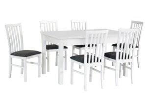 Zestaw stołowy Stół MODENA I, krzesła MILANO I