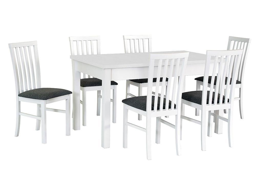 Zestaw stołowy Stół MODENA I, krzesła MILANO I 1
