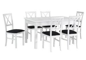 Zestaw stołowy Stół MODENA I, krzesła MILANO IV