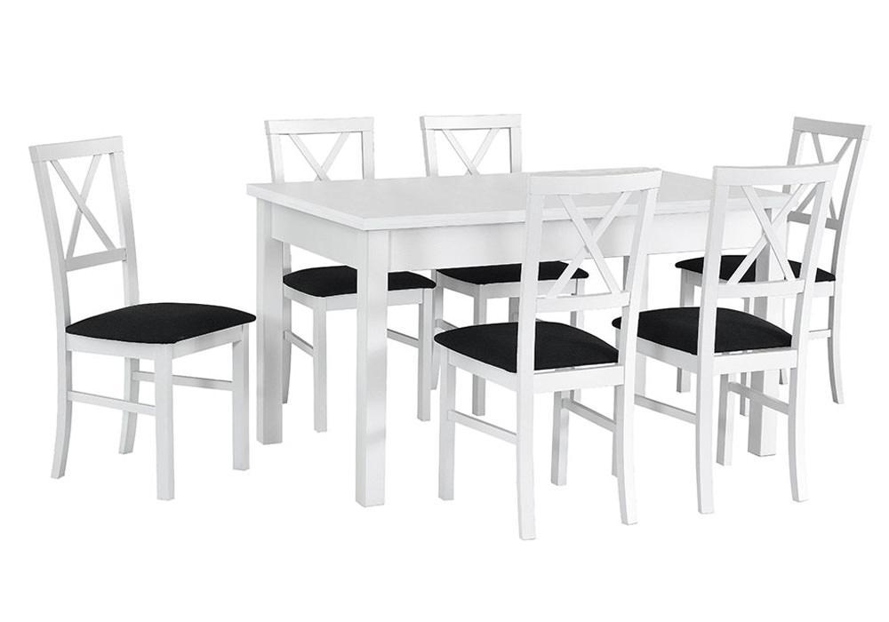 Zestaw stołowy Stół MODENA I, krzesła MILANO IV 1