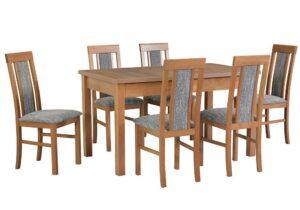 Zestaw stołowy Stół MODENA I, krzesła NILO II