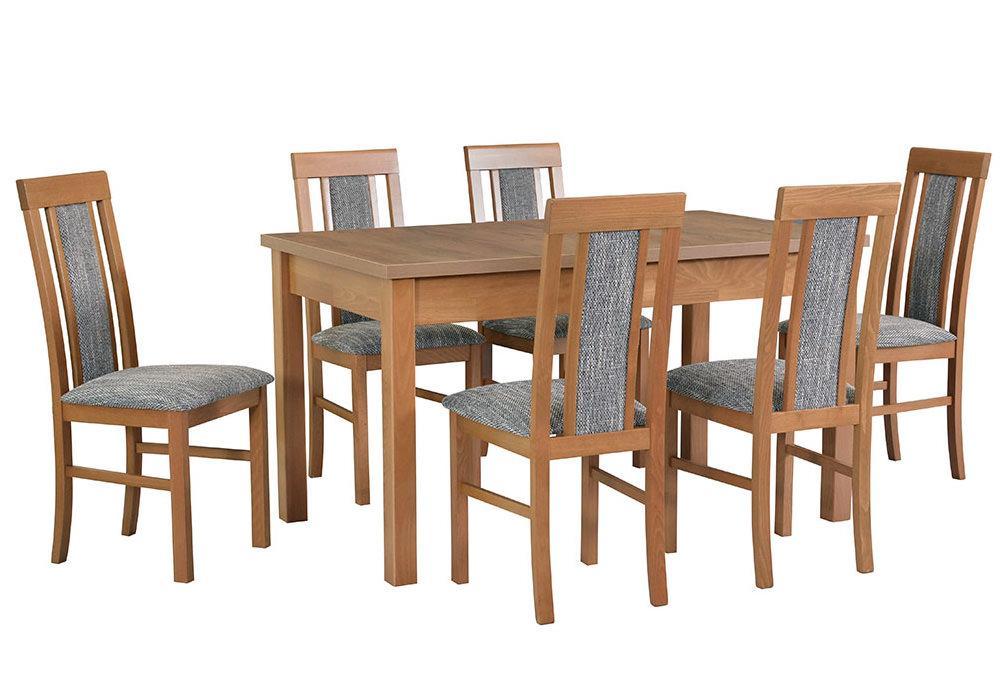 Zestaw stołowy Stół MODENA I, krzesła NILO II 1