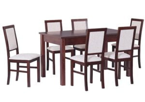 Zestaw stołowy Stół MODENA I, krzesła NILO III