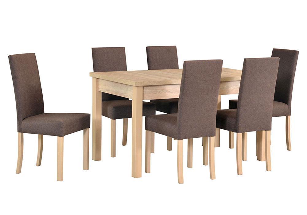Zestaw stołowy Stół MODENA I, krzesła ROMA II 1