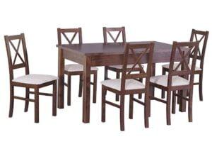 Zestaw stołowy Stół MODENA I, krzesła NILO X