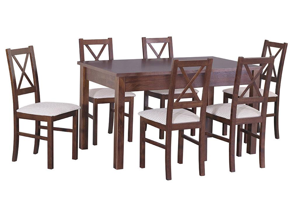 Zestaw stołowy Stół MODENA I, krzesła NILO X 1