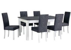 Zestaw stołowy Stół MODENA II, krzesła ROMA II