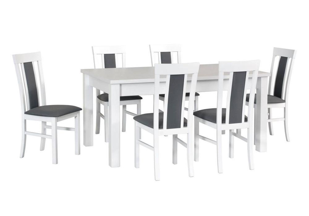 Zestaw stołowy Stół MODENA II, krzesła MILANO VIII 1