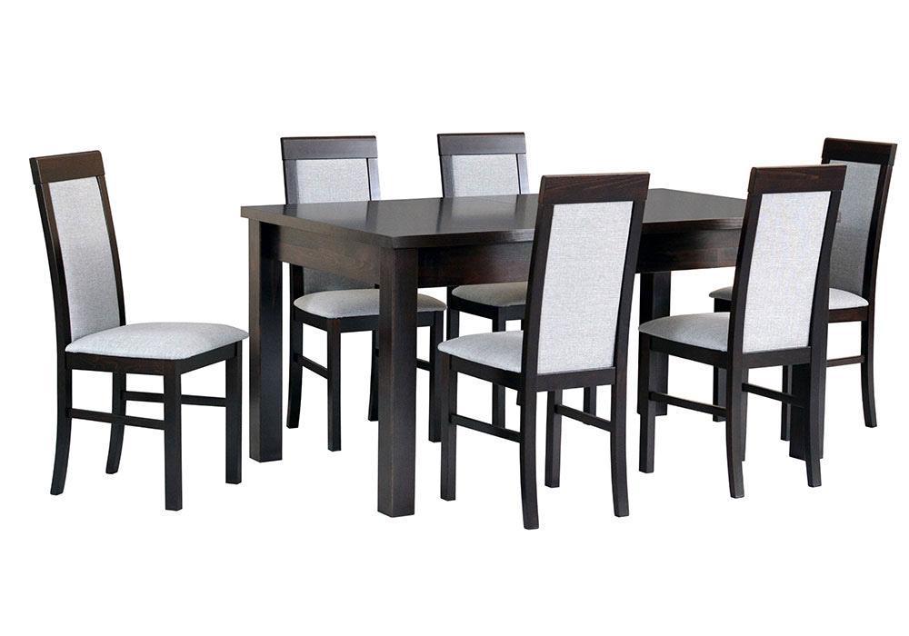 Zestaw stołowy Stół MODENA IV, krzesła NILO VI 1