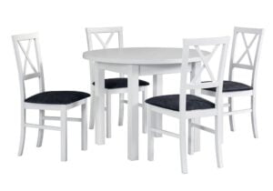 Zestaw stołowy Stół POLI II, krzesła MILANO IV