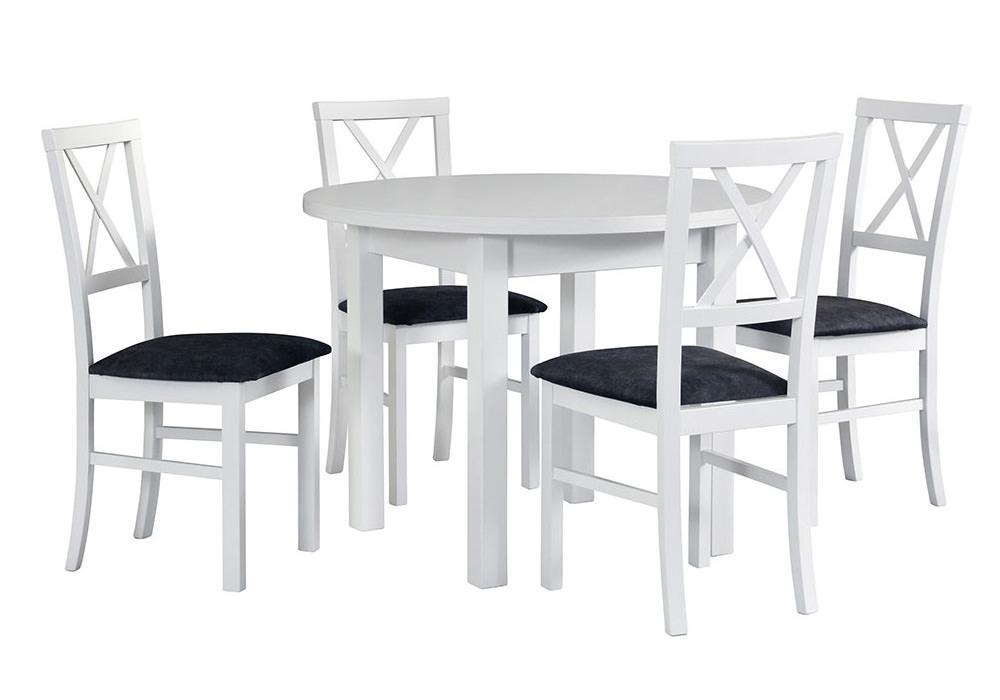 Zestaw stołowy Stół POLI II, krzesła MILANO IV 1