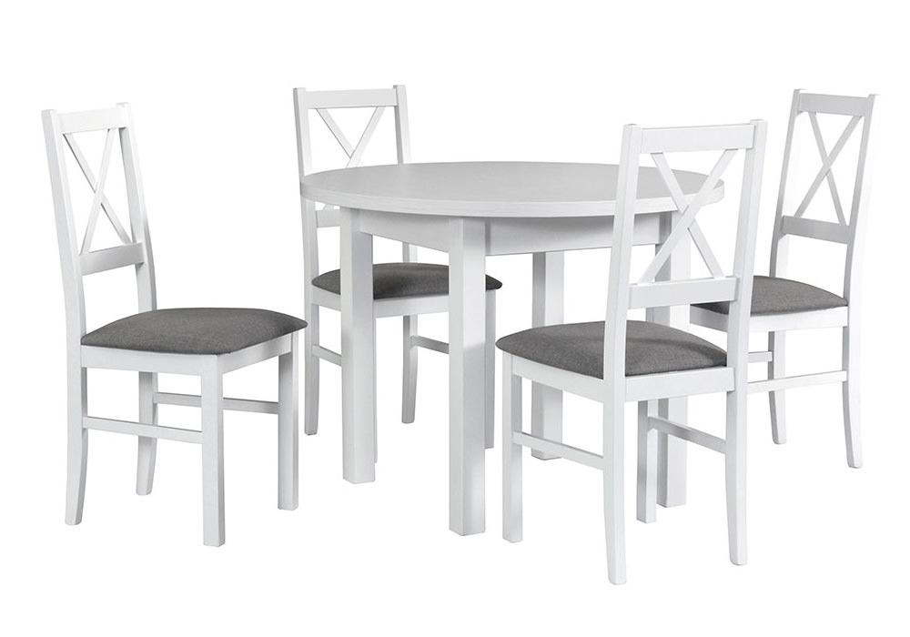 Zestaw stołowy Stół POLI II, krzesła NILO X 1