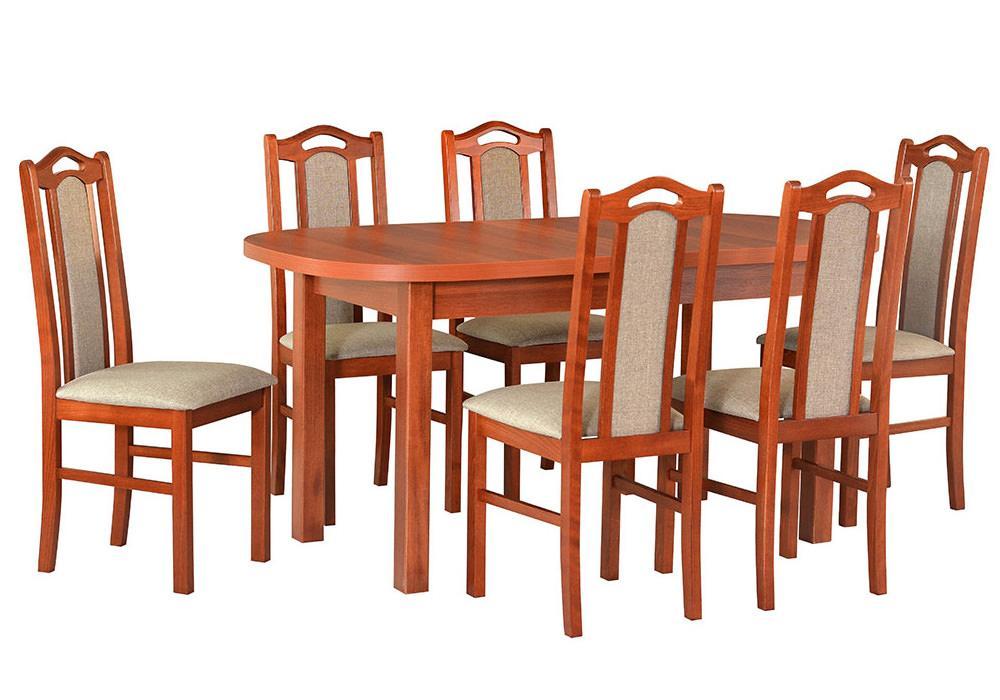 Zestaw stołowy Stół WENUS I, krzesła BOSS IX 1
