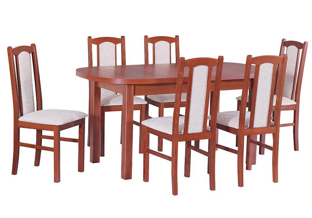 Zestaw stołowy Stół WENUS I, krzesła BOSS VII 1