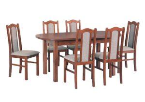 Zestaw stołowy Stół WENUS III, krzesła BOSS II