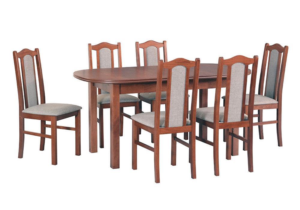 Zestaw stołowy Stół WENUS III, krzesła BOSS II 1