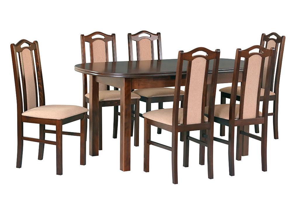 Zestaw stołowy Stół WENUS III, krzesła BOSS IX 1