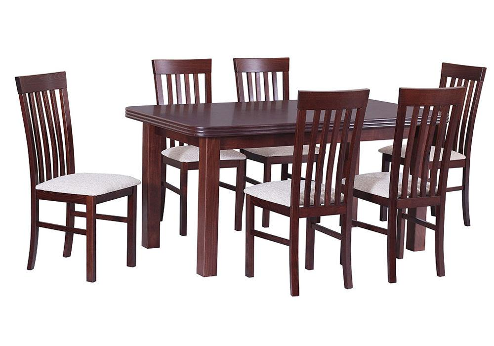 Zestaw stołowy Stół WENUS V, krzesła MILANO II 1
