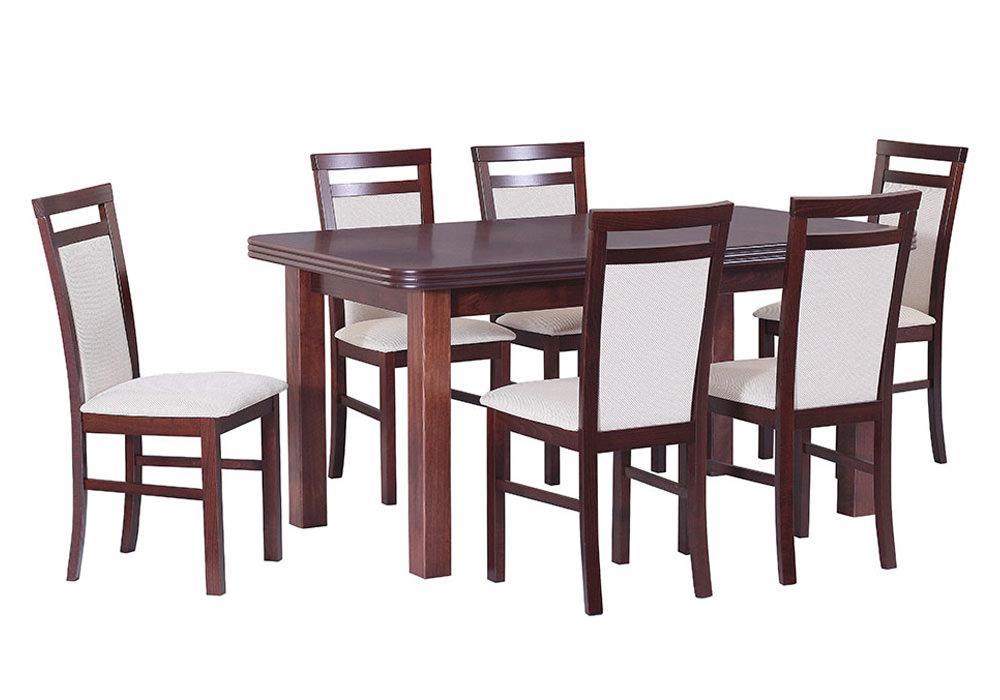 Zestaw stołowy Stoł WENUS V, krzesła MILANO V 1