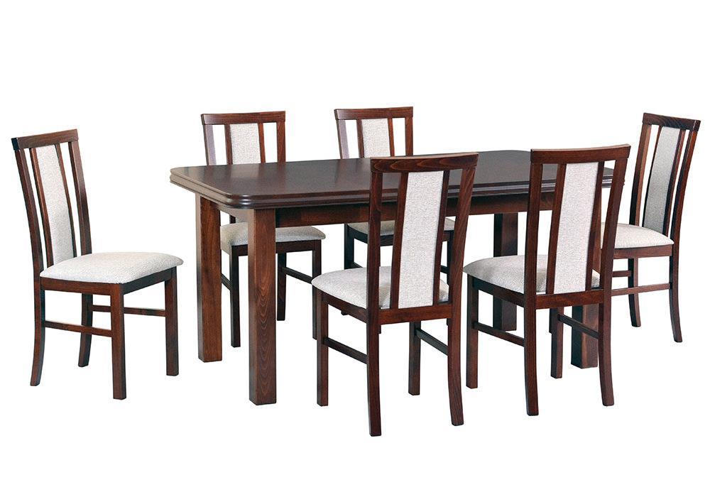 Zestaw stołowy Stół WENUS V, krzesła MILANO VII 1
